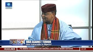 Ekhomu Proffers Solutions To Nigeria's Terror Threat Vulnerability 19/06/18 Pt.2 |News@10|