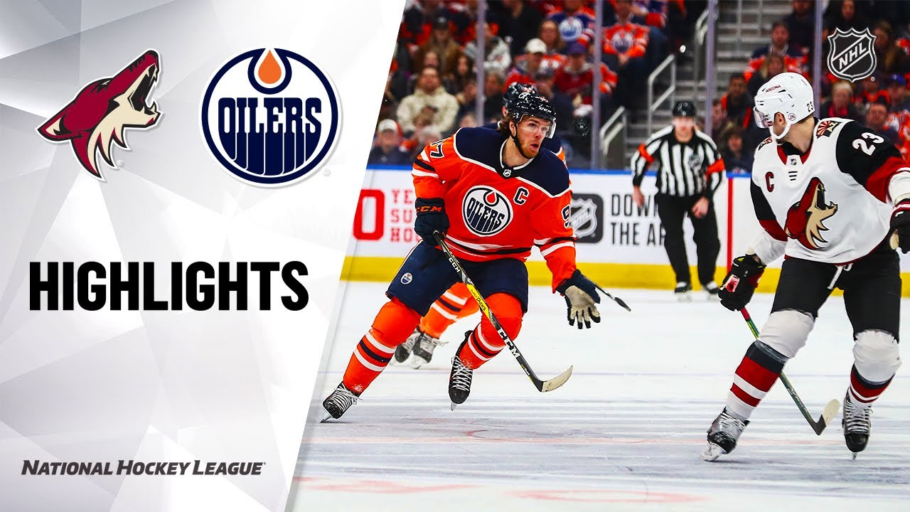 NHL Highlights | Coyotes @ Oilers 1/18/20