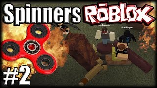 FIDGET SPINNERS no ROBLOX Metalworks - Ep 2 - Bugando o Spinner!