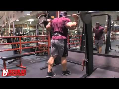 Jay Cutler 2013 Hams Training 3 Weeks Out Olympia