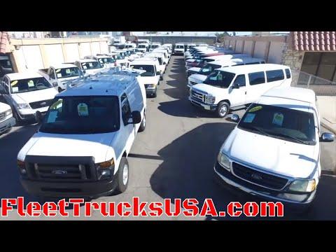 Cargo Vans, Utility Service Trucks & Work Trucks = FleetTrucksUSA.com