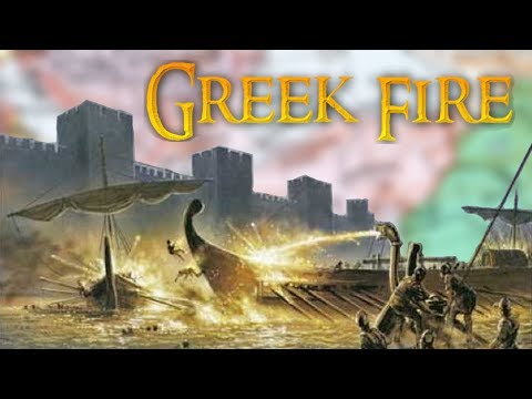 Greek Fire: The Secret Weapon That Saved An Empire
