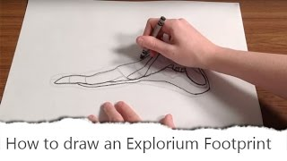 How to draw an Explorium Footprint