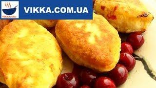 ПИРОЖКИ с вишней:Жареные пирожки на кефире-рецепт-VIKKAvideo