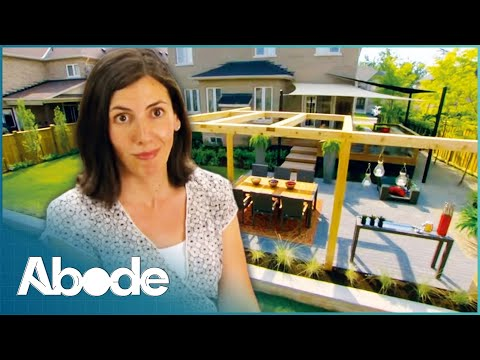Creating An Elegant Back Yard From Scratch   Dirty Business NEW EPISODE   Garden Makeover   Abode
