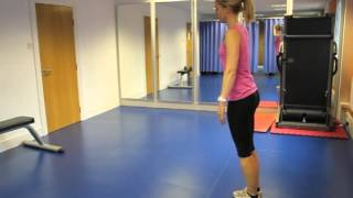 Shoulder Stabilisation Lunge Exercise