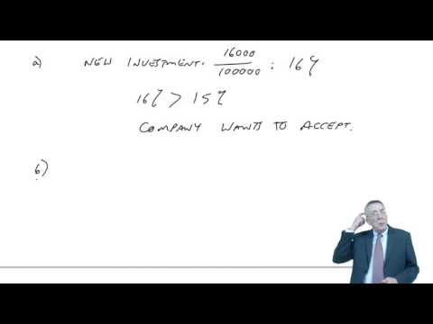 ACCA F5 Divisional performance measurement - Return on Investment (ROI), Residual Income (RI)