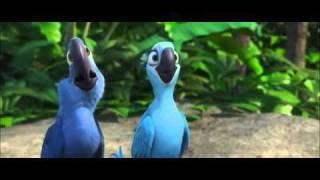 Голубой попугай Mp4