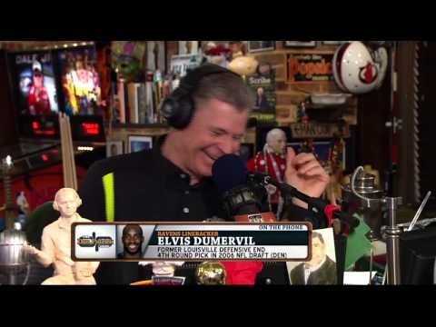 Elvis Dumervil on The Dan Patrick Show (Full Interview) 11/25/14