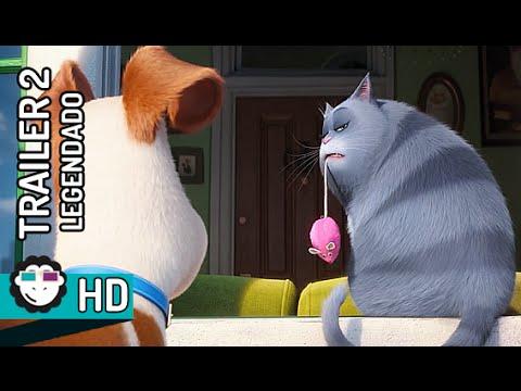 the secret life of pets trailer legendado
