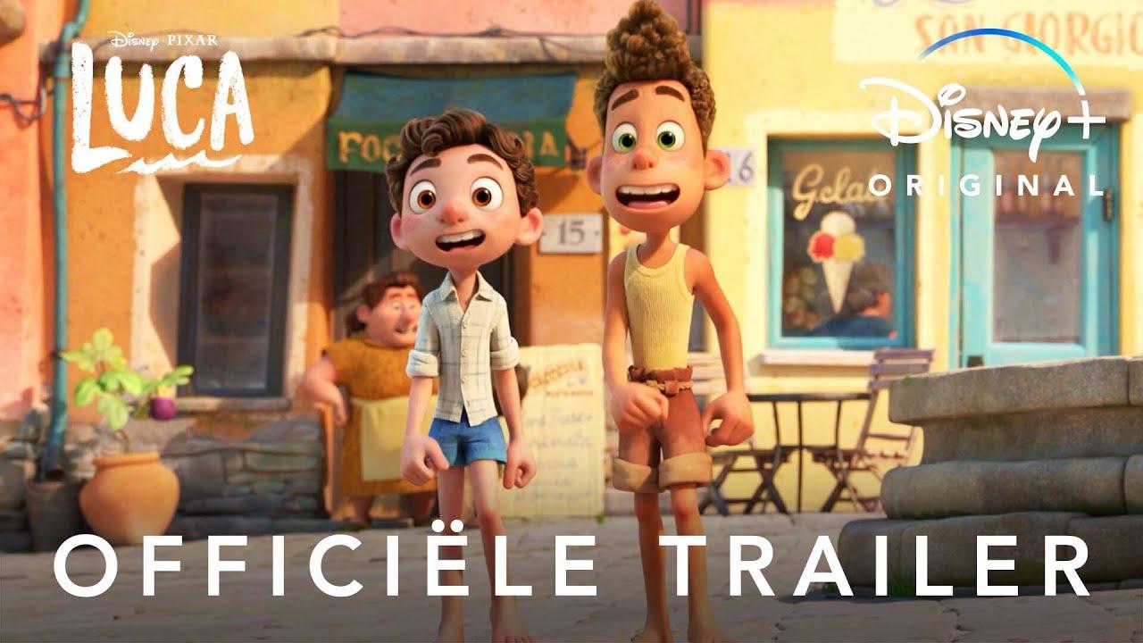 Nieuwe Luca trailer door Pixar