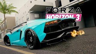 TREFFEN SICH 3 WAHNSINNIGE - FORZA HORIZON 3 MP mit rAii & Johnson | Lets Play