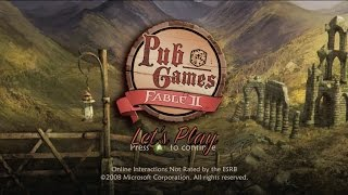 Let's Play: Fable II Pub Games