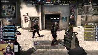 DaZeD Analysis - Liquid vs NiP at Dreamhack Cluj on De_Mirage