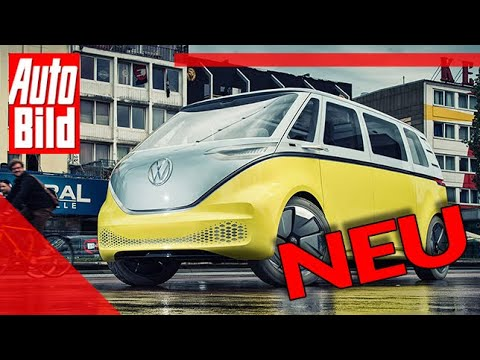 Download VW ID.Buzz (2022): Auto - Bulli - Test - Bus - Premiere - Elektro