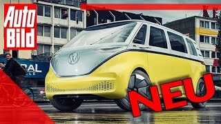 VW ID.Buzz (2022): Bulli - Test - Bus - Premiere - Elektro