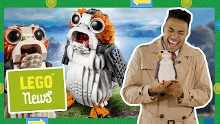 The New 2018 Star Wars LEGO Porg Set IS AMAZING! LEGO Pop Up Store Opening, LEGO Cube Game Launch