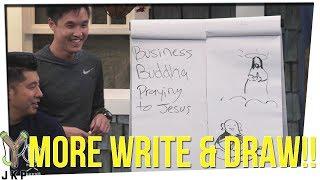 Write & Draw Ft. Wongfu Productions   Book Of Mormon??