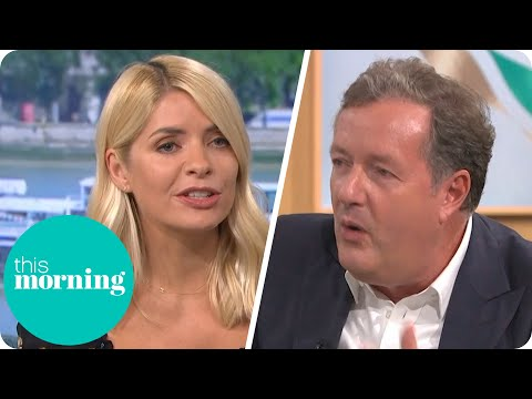 Holly Clashes With Piers Morgan Over The Kardashians | This Morning