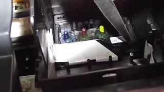 Как снять печатающую головку у принтера Epson TX200(АККУРАТНО ШЛЕЙФ)
