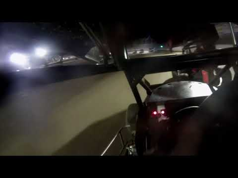 Sean 600 Open A Main - In car roll over  -Deming Speedway