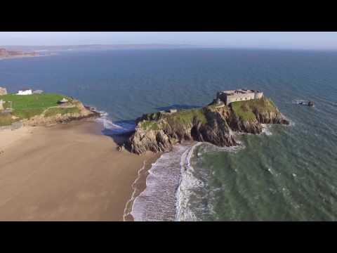 DJI Phantom 3 Standard Drone Tenby Wales