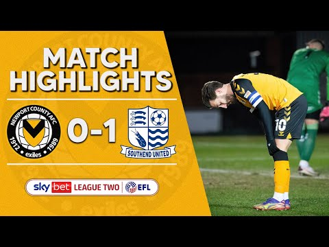 Newport Southend Goals And Highlights