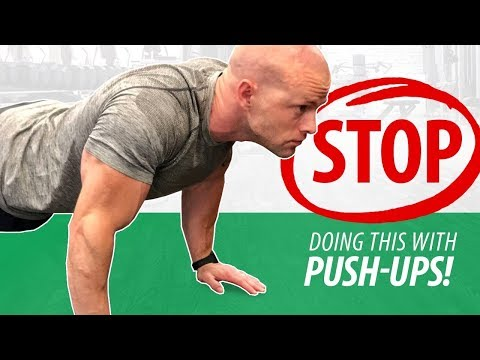 STOP Doing These Push-Up Mistakes (Critical)