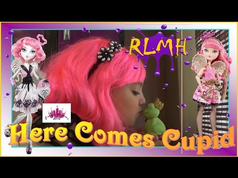 New Happily Ever After High   'Here Comes C.A.Cupid' - Creative Princess