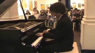 Série Jovens Pianistas - Lucas Thomazinho, piano - Chopin: Sonata nº 3, Finale: Presto Non Tanto