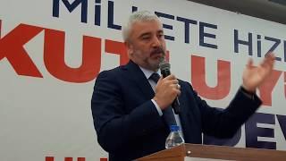 ORDU ULUBEY AK PARTİ  KONGRESİ/BÜYÜKŞEHİR BELEDİYE BAŞKANI ENVER YILMAZ