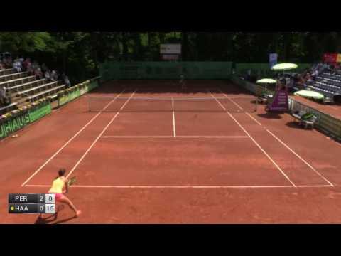 Pera Bernarda v Haas Barbara - 2017 ITF Darmstadt