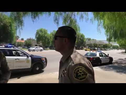 Marine Recruiting Office Valencia CA  arrest Furry Potato - Mirrored with permission -