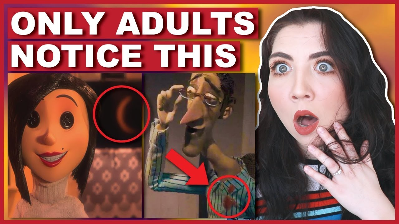 Download Things Only Adults Notice In Coraline