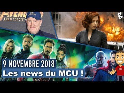 Trailer Avengers 4 en 2019 ? / Synopsis Black Widow fake / Durée Avengers 4 !