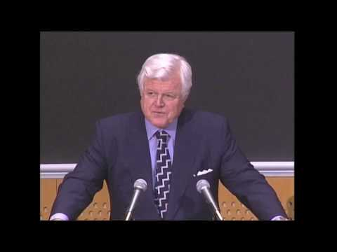MIT Compton Lecture: Edward Kennedy, 2007