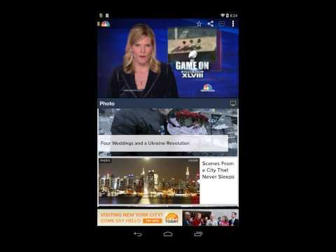 NBC News App Demo