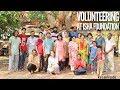 Volunteering experience at Isha yoga center, Coimbatore 😇🙏🏾