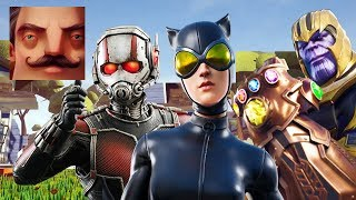 Hello Neighbor - My New Neighbor Ant-Man Catwoman Thanos FULL HISTORY Gameplay Walkthrough