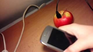Jak nabít jablkem telefon?