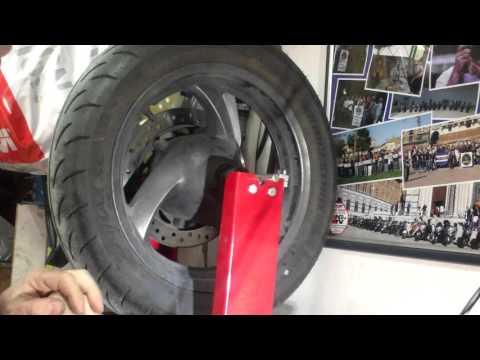 SWCI - Equilibratura ruota anteriore Silver Wing