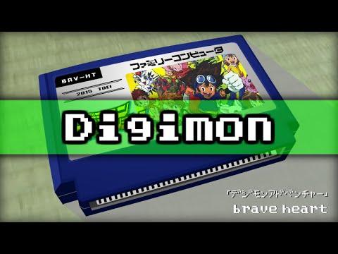 brave heart/Digimon Adventure 8bit