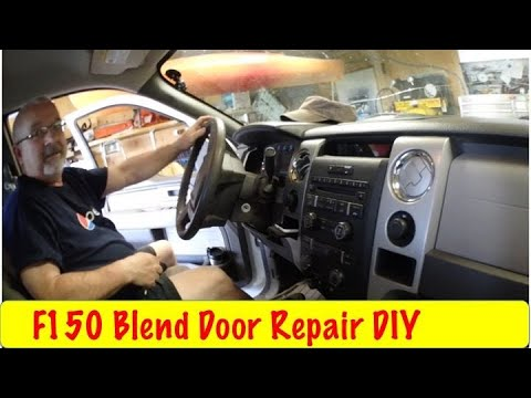 F150 Stuck Blend Door In Hot Repair Diy