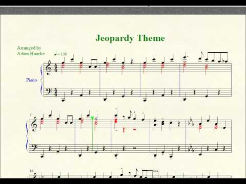 Piano Sheet Music -