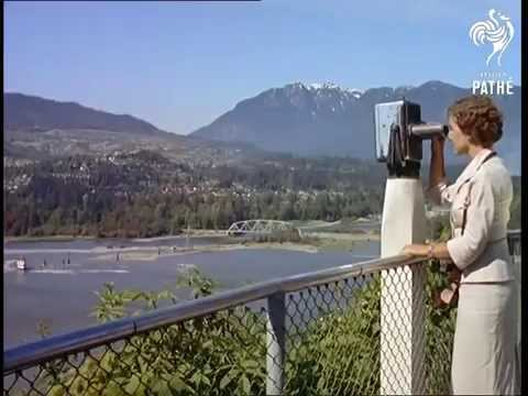 British Newsreel footage of Vancouver in 1958