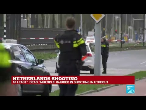 Netherlands shooting: At least one dead in  Utrecht tram attack, suspect reportedly still at large