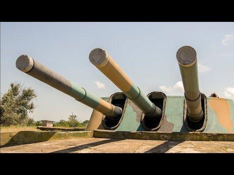 Работа орудий и