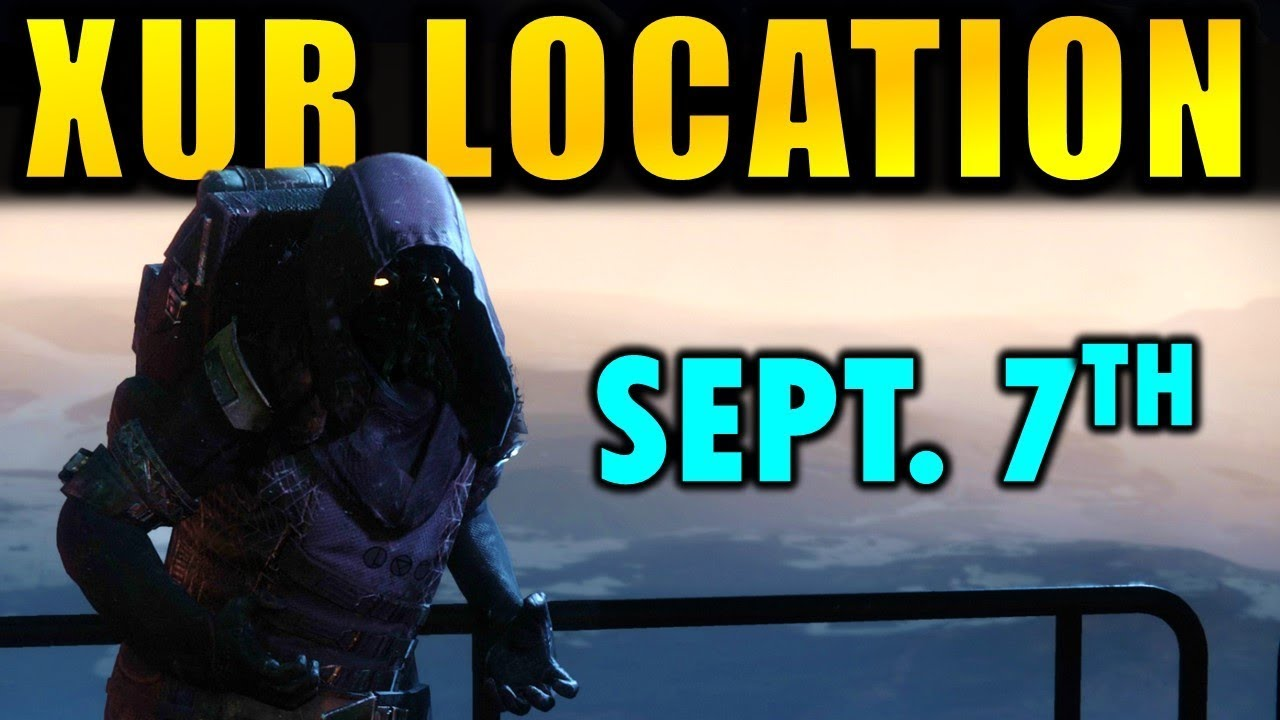 Xur Destiny 2 Xur Location Inventory Review First Xur Of Forsaken Sept 7
