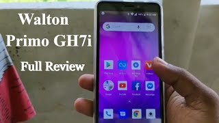 Walton Primo GH7i Bangla Full Review 2019