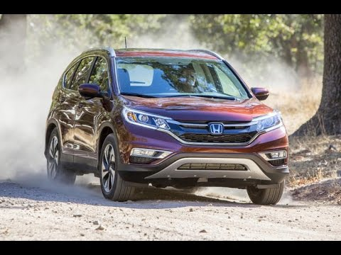 Тест драйв Honda CR V